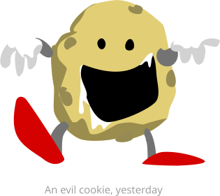 An evil cookie